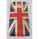 coque samsung galaxy S6 edge drapeau anglais usé