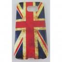 coque samsung galaxy S6 drapeau anglais usé