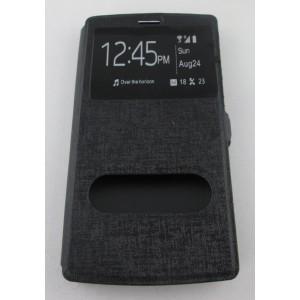 étui portefeuille LG G4 noir