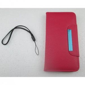 étui portefeuille iphone 6 rose fushia