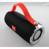 enceinte bluetooth waterproof noir et orange