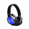 casque audio sans fil bluetooth 4.2+ EDR bleu