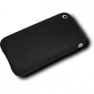 Coque Silicone Iphone 3G / 3GS noir