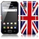 Coque Arrière Drapeau Angleterre Samsung Galaxy ACE S5830