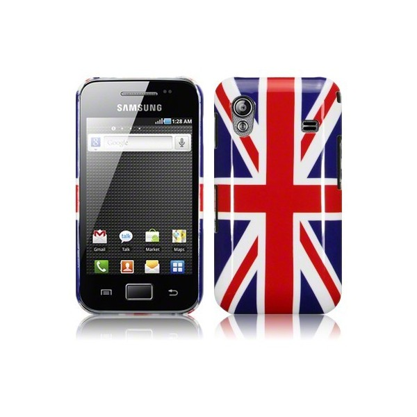 coque samsung galaxy ace drapeau anglais accessoire discount. Black Bedroom Furniture Sets. Home Design Ideas