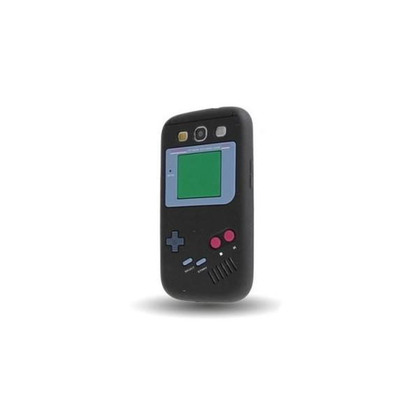 Coque Samsung Galaxy S3 noir Game boy Silicone - Accessoire Discount