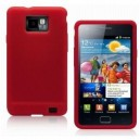 Coque silicone Rouge Samsung Galaxy S2 I9100