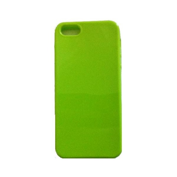 coque iphone 55s verte silicone
