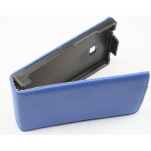 Etui à rabat bleu LG Optimus L3 /E400