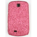 Coque Samsung Galaxy Mini / S5570 rose pailleté