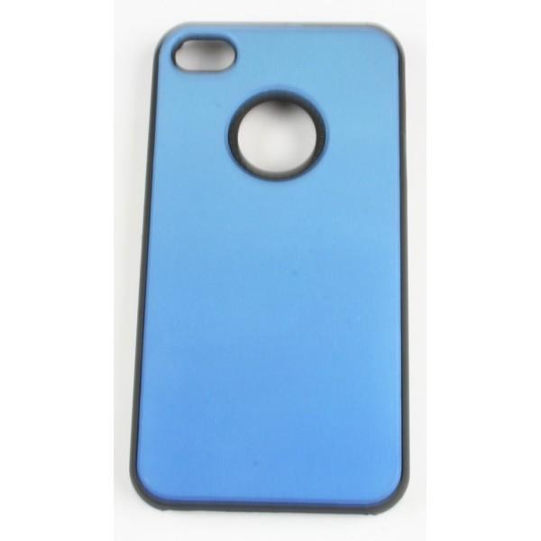 coque iphone 4 4s bleu