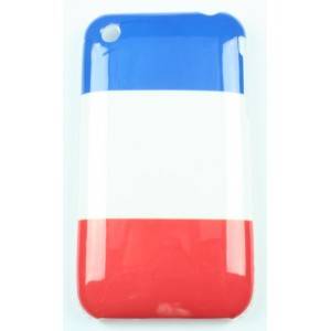 coque iphone 3 / 3gs drapeau francais