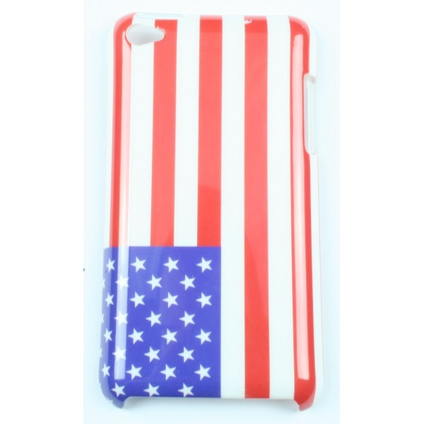 coque ipod touch 4 drapeau am ricain accessoire discount. Black Bedroom Furniture Sets. Home Design Ideas