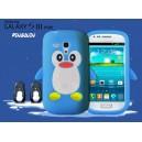 Coque samsung galaxy s3 mini pingouin bleu ciel